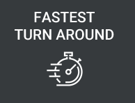 fastest turn around